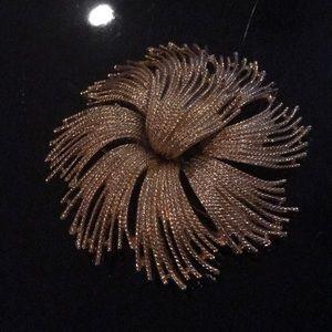 Vtg Monet starburst cordelia brooch
